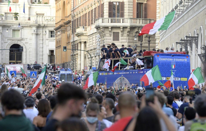 Tim Italia disalahkan karena meningkatkan Covid-19