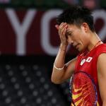 Kento Momota tersingkir di babak penyisihan grup Olimpiade