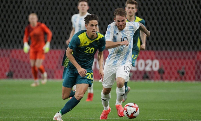 Argentina kalah dalam pertandingan pembukaan Olimpiade