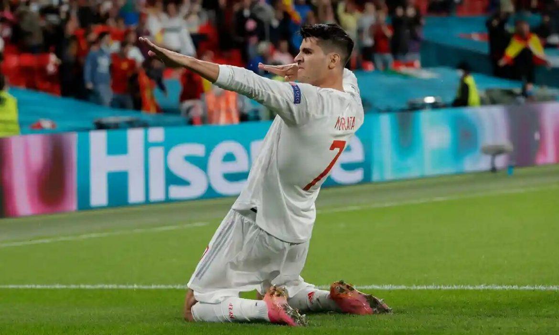 Morata pecahkan rekor gol Torres