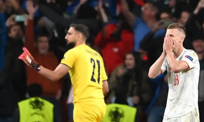 Spanyol kalah di semifinal turnamen besar untuk pertama kalinya