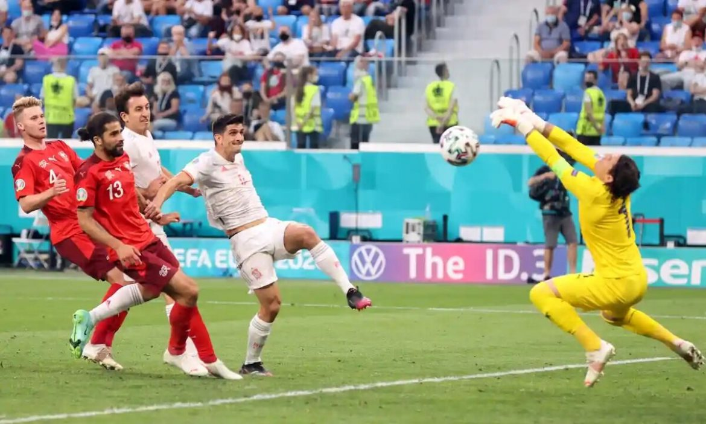 Swiss vs Spanyol langsung