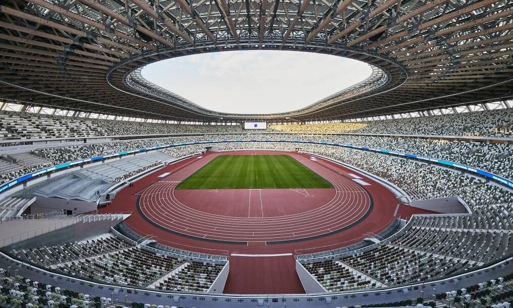 Penangkapan tersangka pemerkosaan di stadion Olimpiade