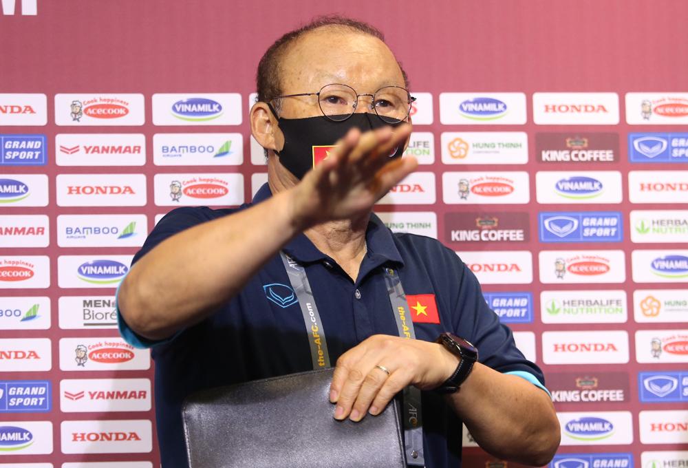 Coach Park: 'Semakin kuat lawan, semakin tinggi semangat Vietnam'