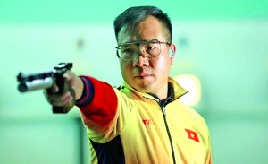 Hoang Xuan Vinh tersingkir di awal Olimpiade 2020