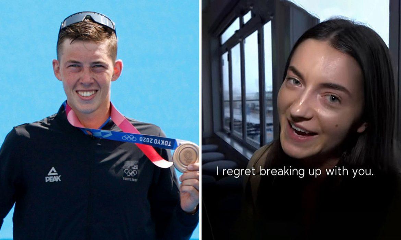 Mantan pacar menyesal meninggalkan atlet yang baru saja memenangkan medali Olimpiade