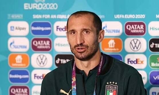 Chiellini: 'Mudah menebak Inggris mencapai final karena memainkan enam pertandingan kandang'