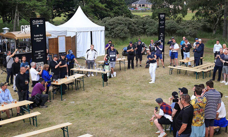 Melarikan diri dari 'taman bir' di Scottish Open
