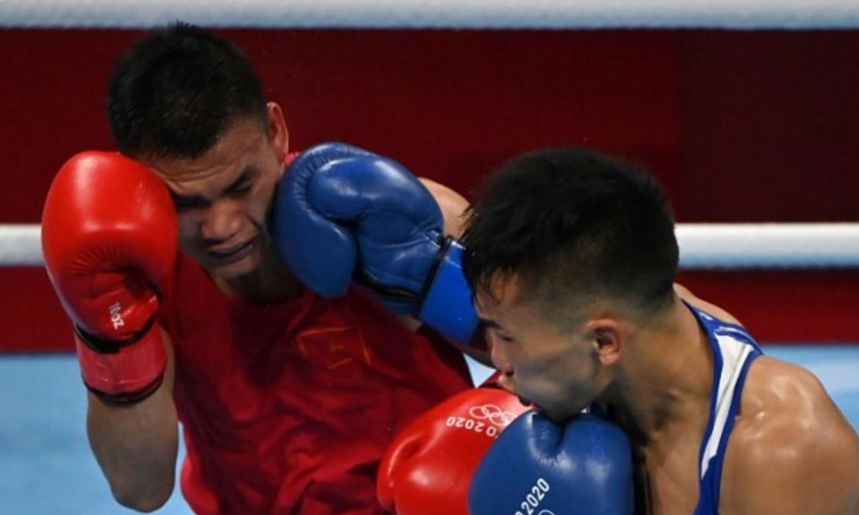 Van Duong kalah dari peringkat tiga dunia di Olimpiade