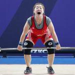 Angkat besi Olimpiade langsung