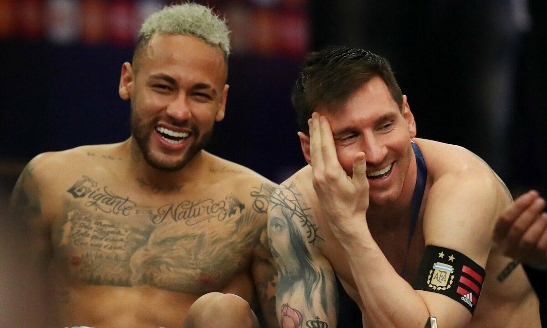 Messi, Neymar Terbaik Copa America 2021