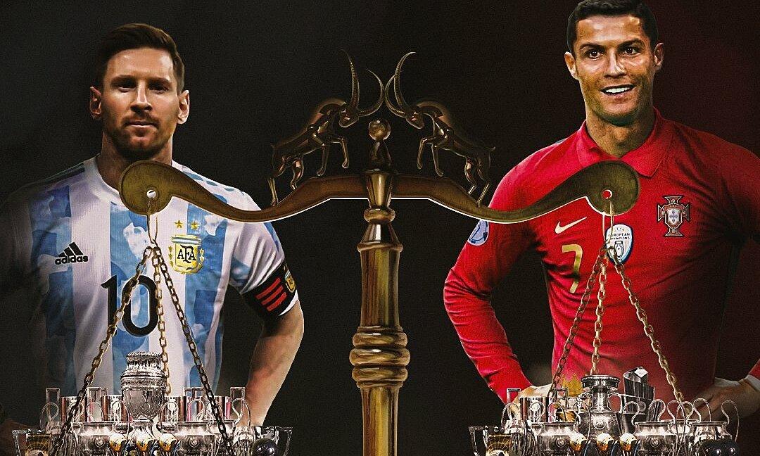 Messi memperlebar kesenjangan gelar dengan Ronaldo