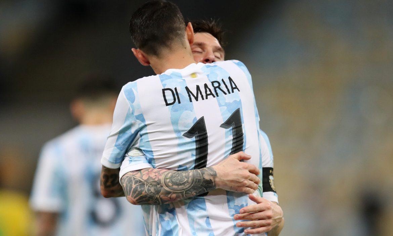 Messi terima kasih Di Maria