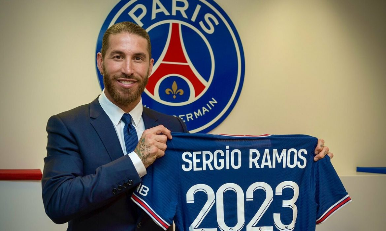 Sergio Ramos Gabung PSG