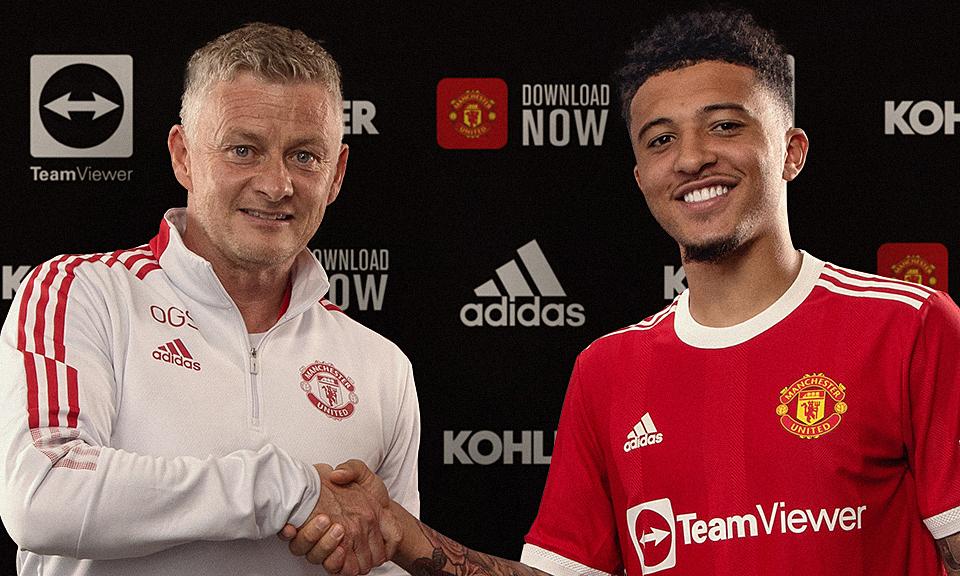 Sancho tidak diperbolehkan mengenakan nomor punggung 7 di Man Utd