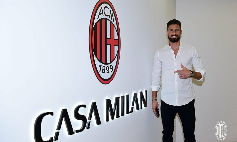 Chelsea menjual Giroud dengan harga murah ke Milan