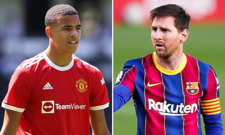 Greenwood: 'Messi selalu lebih baik dari Ronaldo'