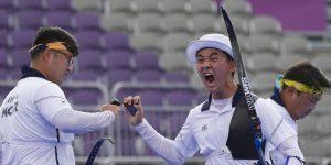 Pemanah merawat ayah mereka yang sakit dan memenangkan Olimpiade