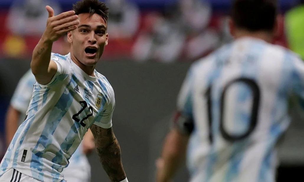 Argentina vs Kolombia langsung: Lautaro membuka skor