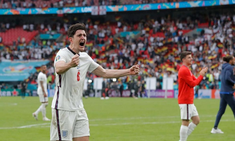 Maguire: 'Inggris mengendalikan permainan sebelum menyelesaikan Jerman'