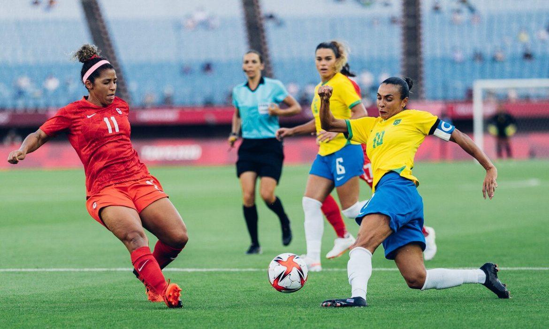 Tiga perempat final sepak bola putri Olimpiade harus dimainkan dalam waktu tambahan