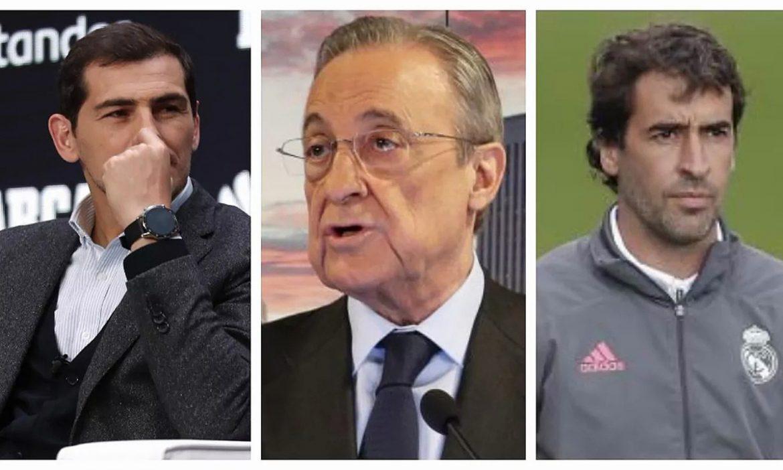 Presiden Real Madrid: 'Raul dan Casillas adalah dua penipu'