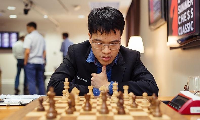Quang Liem mencapai perempat final Banter Blitz hari ini