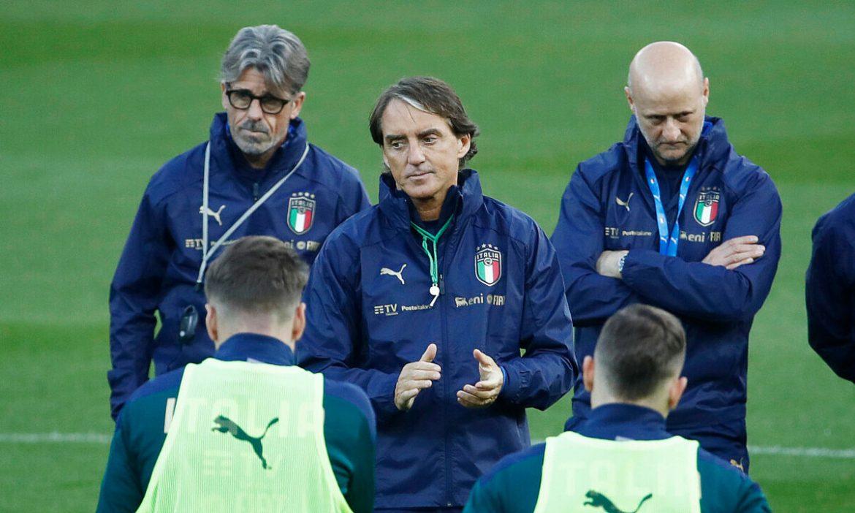 Mancini: 'Belgia menyoroti cedera De Bruyne dan Hazard'