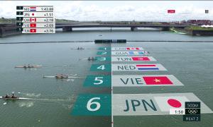 Dayung Vietnam memasuki kompetisi untuk tiket Olimpiade