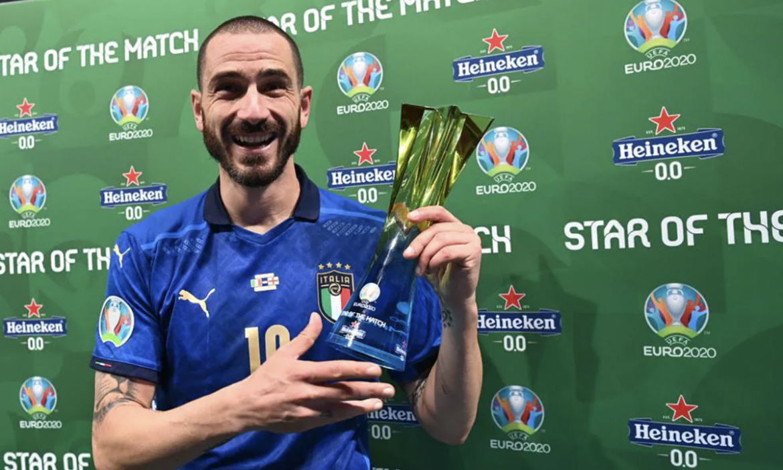 Bonucci: 'Sepak bola kembali ke Roma'