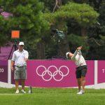 Pasang surut di medan golf Olimpiade