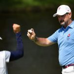 Pernikahan itu membantu Slovakia memenangkan medali perak golf Olimpiade