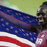 AS memenangkan medali emas 800m putri Olimpiade setelah lebih dari 50 tahun