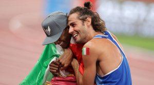 Persahabatan dua atlet berbagi emas Olimpiade