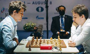 Catur Raja Carlsen tersingkir di semifinal Piala Dunia