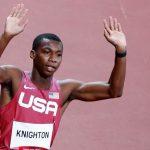 Atlet 17 tahun membuat sejarah untuk atletik Amerika