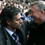 Ferguson mengucapkan selamat kepada Mourinho karena telah mencapai 1000 pertandingan