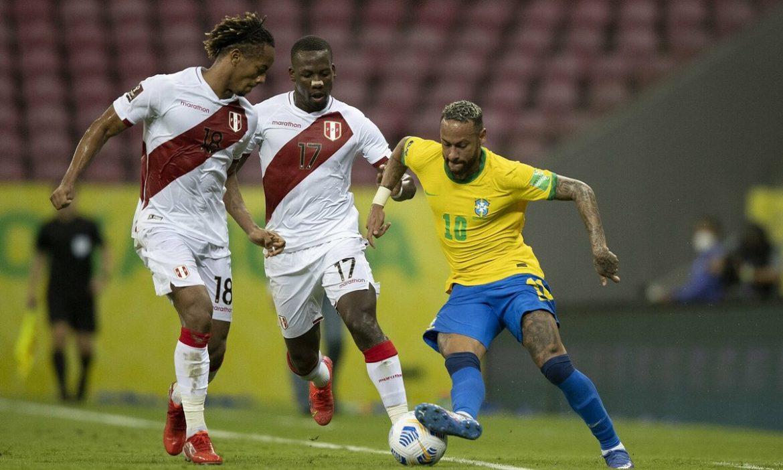 Neymar membantu Brasil mempertahankan rekor kemenangan