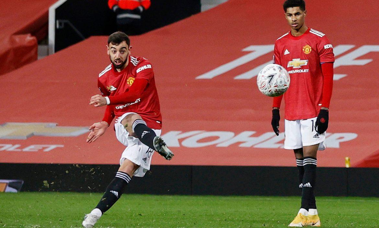 Fernandes mengisyaratkan untuk tidak membiarkan Ronaldo melakukan tendangan bebas di Man Utd